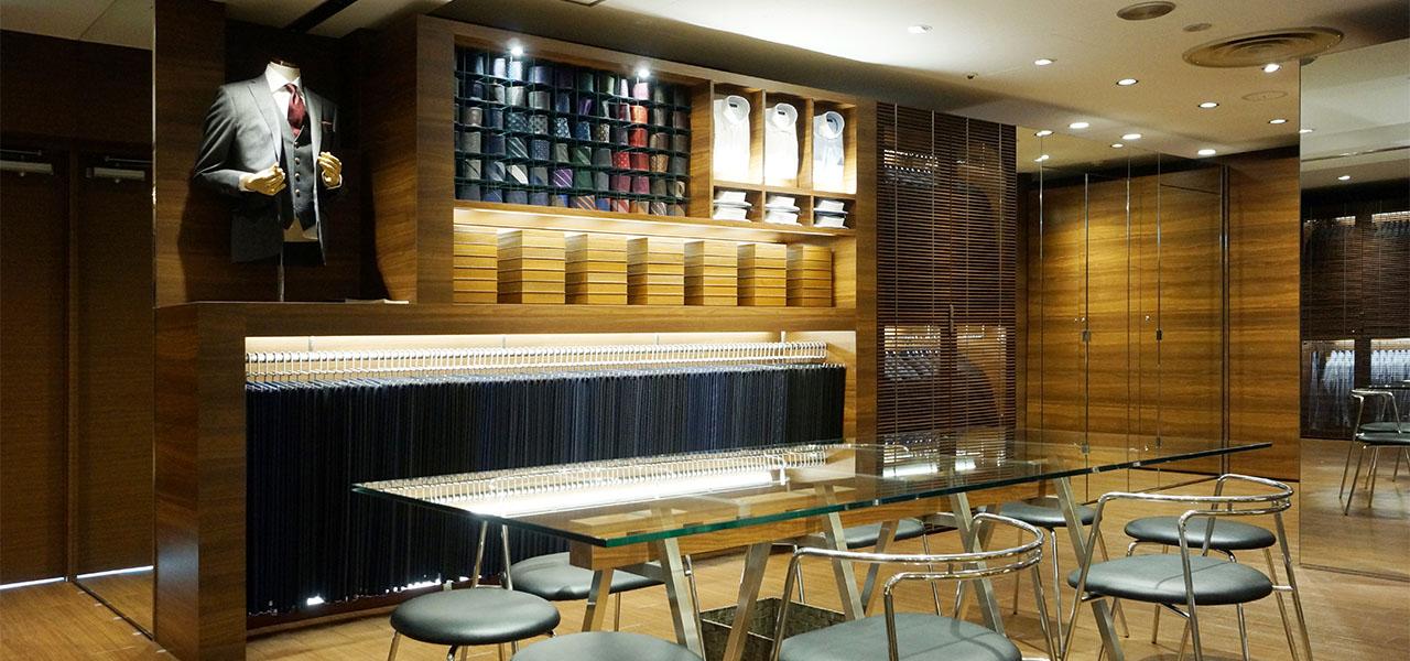 上野マルイ店 | オーダースーツブランドDIFFERENCE(ディファレンス)
